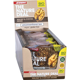Enervit Nature Deal UncBar Box 12 x 50g, walnut/cocoa